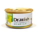 SEEDS (犬用)Dr Wish營養慕絲 DR02 - 雞肉+蔬菜+Omega3&6 85g