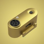 Tickless TLM04 超聲波驅蚤器充電版 mini 狗用金色
