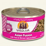 Weruva Asian Fusion 紅肉吞拿+白魚 85g