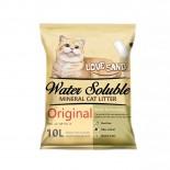 **試用價38元 Love Sand Water Soluble Mineral Cat Litter 可水溶礦物砂 10L