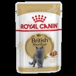 Royal Canin 2408100 (肉汁系列) 英國短毛貓成貓配方-85g x 12包同款原箱優惠