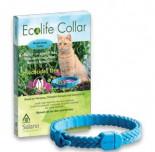 Solano - Ecolife Collar 純天然貓用驅蚤頸帶 (粉紅色 / 白色)