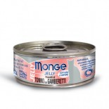 Monge Super Premium 系列 貓罐頭 80g - 吞拿魚+雞肉+海蝦