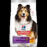 Hills -10115 成犬 胃部及皮膚敏感專用配方 狗糧 4lb