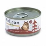 Salican 挪威森林 白肉吞拿魚+鯛魚 啫喱貓罐頭 85g
