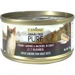 Canidae 沙丁魚與鯖魚貓罐頭 70g x 24罐原箱同款優惠