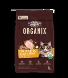 ORGANIX® 穀物全貓糧 – 有機雞肉糙米配方 6lb (NEW)