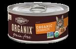 ORGANIX 有機無穀物貓用罐頭 – 雞肉醬配方 5.5oz