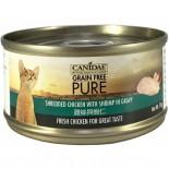 Canidae 雞絲與蝦仁貓罐頭 70g x 24罐原箱同款優惠