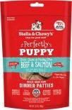 Stella & Chewy's 凍乾脫水狗糧 SC097 Freeze Dried Dinner Patties for dog - 幼犬牛肉及三文魚配方 05.5oz