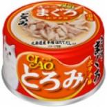 CIAO A41 帶子濃湯 雞肉+吞拿魚 貓罐頭 80g x 24罐原箱優惠