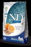 N&D FISH & ORANGE ADULT MINI 無穀物全犬配方 橙&鯡魚 (細粒) 07kg