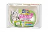 日本 Unicharm 消臭大師 迷你型雙層貓砂盤套裝