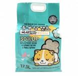 **試用價$153** 韓國 豆腐與貓 [CL-102] - 極幼條(1.5mm)豆腐貓砂 - 椰殼炭 17.5L (只限20包)