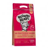Meowing Heads [MHS4] - 全天然成貓配方 So-Fish-Ticated Salmon 4kg (胭紅色)