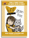 Weruva Best Feline Friend 85g 袋裝系列 吞拿魚+火雞肉 x 12包優惠