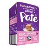 Stella & Chewy's [PP-CHSM-5.5] - 滋味骨湯肉醬 雞肉三文魚5.5oz x 12盒原箱優惠