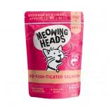 Meowing Heads [MHWS] - 無穀物So-Fish-Ticated主食濕包 100g