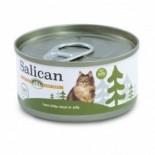 Salican 挪威森林 白肉吞拿魚 啫喱貓罐頭 85g