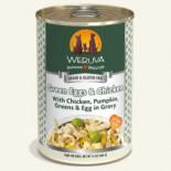 WERUVA 002638 狗罐頭 Green Eggs & Chicken 無骨去皮雞胸肉、雞蛋、豌豆 14 oz