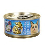 Akika 漁極 - AY23 金槍魚+銀雪魚 貓罐頭 80g