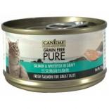 Canidae 三文魚與白身魚貓罐頭 70g x 24罐原箱同款優惠