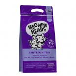 Meowing Heads [MHK3] - 全天然(幼貓)成長配方 Smitten Kitten 3kg (1.5 kg x 2) (紫色)