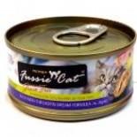 Fussie Cat FU-TBC 吞拿魚+鯛魚貓罐頭 80g