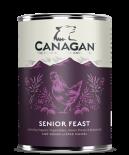 Canagan 全天然無穀物狗罐頭 400G - 頂級護理老犬雞肉配方 x 6罐原箱優惠