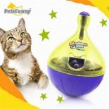 貓貓不倒翁(小型)零食玩具球 (顏色隨機)