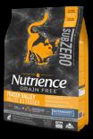 Nutrience SubZero 冷凍脫水鮮雞肉 無穀物雞+火雞+海魚 全貓配方 11LB