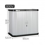 IRIS愛麗思 MLV800 戶外加厚防水儲物櫃
