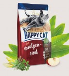 Happy Cat 成貓牛肉大顆粒配方貓糧 Adult Voralpen-Rind (Bavarian beef) 1.4kg