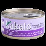 Kakato 703- 雞+牛+糙米+菜 70G