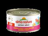 almo nature legend Salmon and Chicken 雞肉鮭魚(三文魚) 貓罐頭 70g