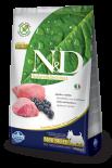 N&D LAMB & BLUEBERRY ADULT MINI 無穀物全犬配方 藍莓&羊肉 (細粒) 02.5kg