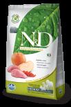 N&D BOAR & APPLE ADULT MEDIUM 無穀物全犬配方 蘋果&野豬 (中粒) 02.5kg