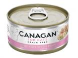 複製 Canagan 貓用無穀物雞肉+火腿配方罐頭 75g