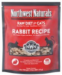 Northwest Naturals™ NWFFD11RB 無穀物脫水貓糧 – 兔肉 311g