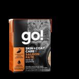 Go! Solutions 1266024 護膚美毛系列 三文魚肉醬 貓濕糧 6.4oz (盒裝)
