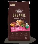 Organix USDA 無穀物全犬糧-有機小型犬配方 10lb