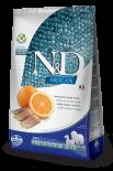 N&D FFISH & ORANGE ADULT MEDIUM 無穀物全犬配方 橙&鯡魚 (中粒) 02.5kg