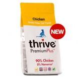 *多買優惠* thrive 脆樂芙 PremiumPlus 無穀物貓糧 鮮雞肉配方 1.5kg (黃色) x 3包同款優惠 ps冇贈品及不可與其他優惠一同使用