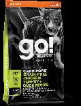 GO! SOLUTIONS 1303002 活力營養系列 無穀物雞肉+火雞+鴨肉幼齡犬狗糧配方 12 lb