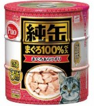 AIXIA 純罐 [JY3-12] 吞拿魚塊 125g x 3罐裝 (紅)