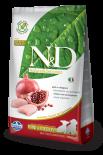 N&D Chicken & Pomegranate Puppy 無穀物幼犬配方 石榴&雞肉 02.5kg