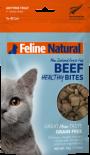 F9 Natural [F9-HB-B50]- Beef Healthy Bites 凍乾牛肉粒貓零食 50g
