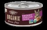 ORGANIX 有機無穀物貓用罐頭 – 雞及雞肝肉醬配方 5.5oz