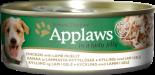 Applaws 狗罐頭 天然Jelly系列 156G 雞肉+羊肉 x 12罐原箱優惠