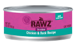 RAWZ 96% RZCCD155 雞肉及鴨肉肉絲全貓罐頭 155g